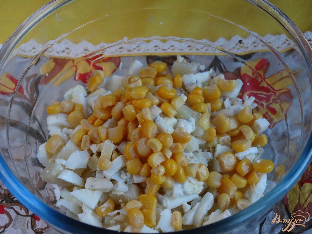 Фото приготовление рецепта: Салат Морской ёж шаг №3