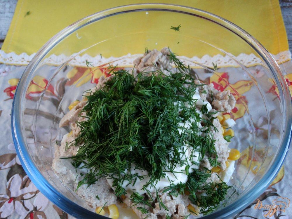 Фото приготовление рецепта: Салат Морской ёж шаг №6