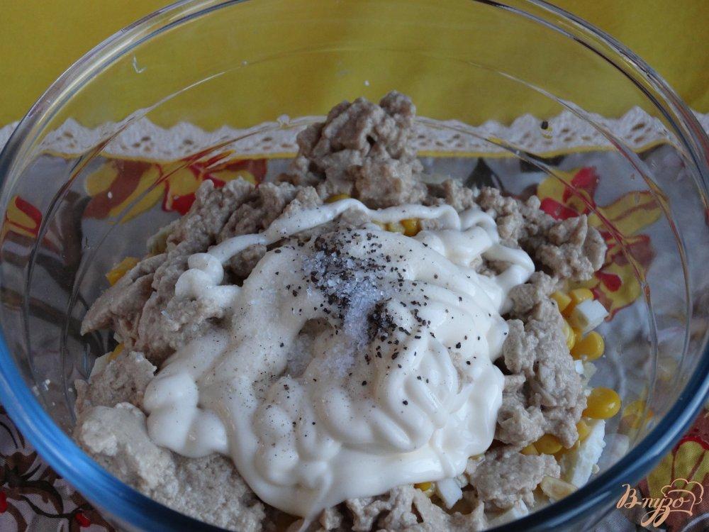 Фото приготовление рецепта: Салат Морской ёж шаг №5
