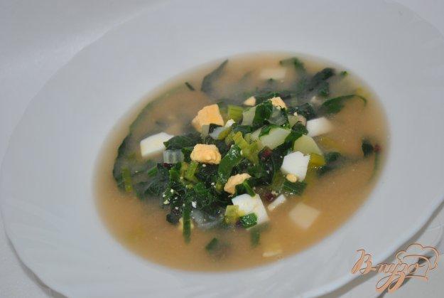 фото рецепта: Зеленый борщ