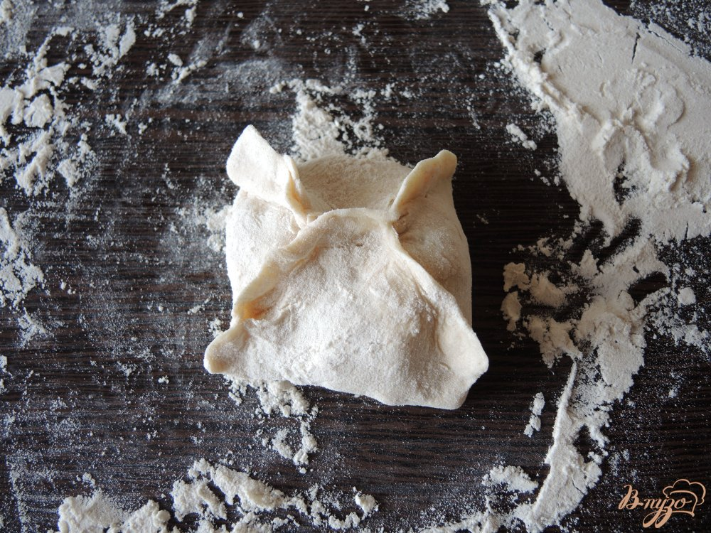 Фото приготовление рецепта: Манты в мультиварке шаг №15