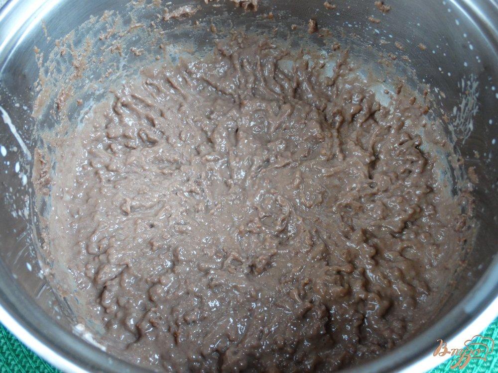 Фото приготовление рецепта: Тыквенные пирожные с заварным кремом шаг №9