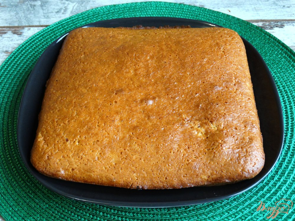 Фото приготовление рецепта: Тыквенные пирожные с заварным кремом шаг №6