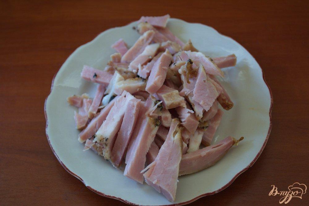 Фото приготовление рецепта: Студенческая солянка без бульона шаг №2