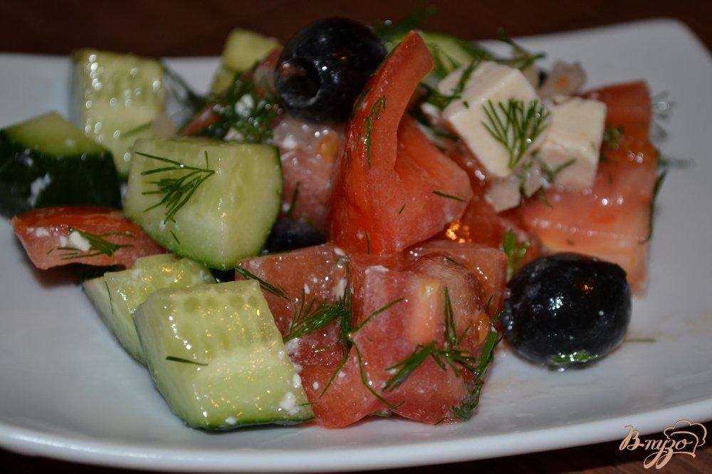 Фото приготовление рецепта: Салат аля