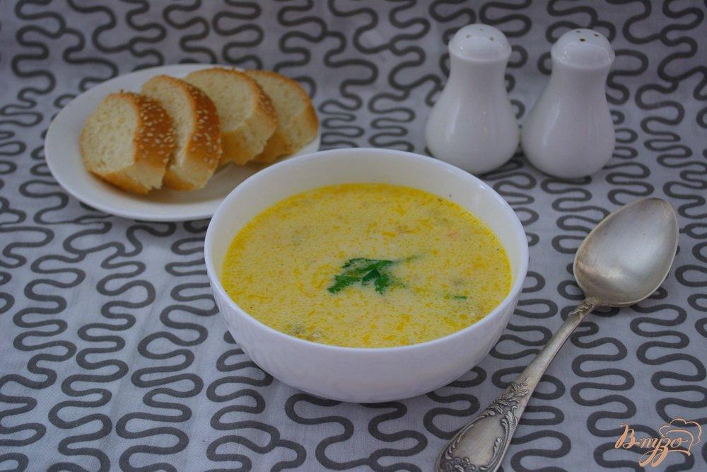 Фото приготовление рецепта: Грибной суп в одной кастрюле шаг №6