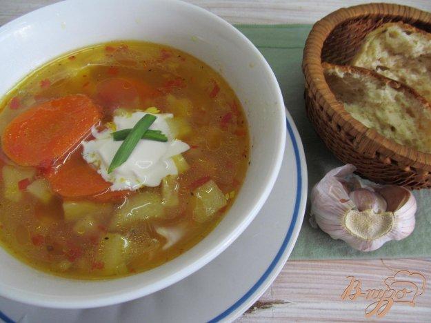 фото рецепта: Томатный суп карри