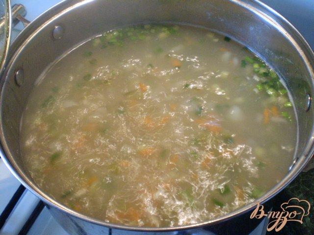 Фото приготовление рецепта: Рассольник на курином бульоне шаг №9