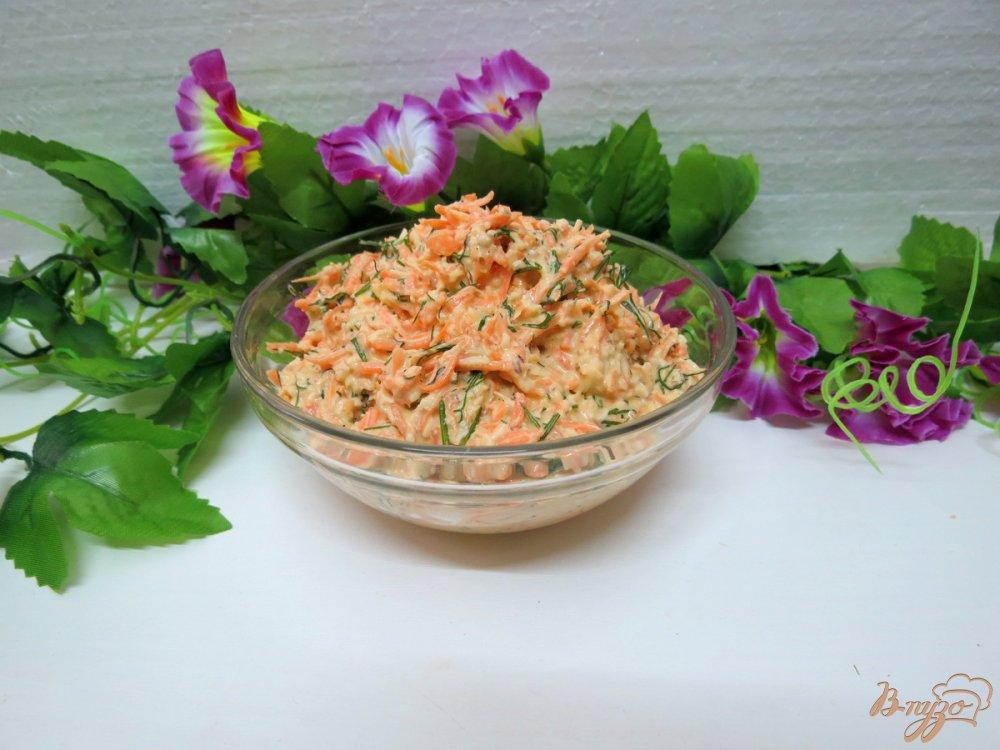 Фото приготовление рецепта: Острая морковная закуска шаг №7