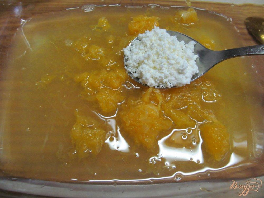 Фото приготовление рецепта: Апельсиновый десерт шаг №3