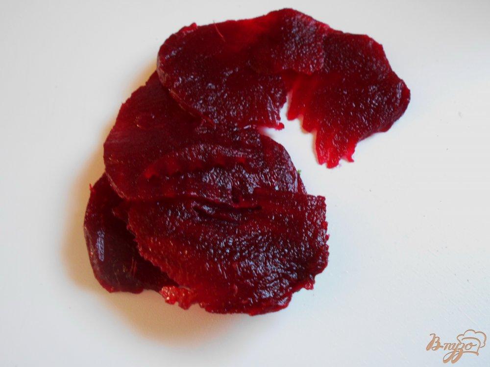 Фото приготовление рецепта: Салат из  белокачанной капусты, свеклы и апельсина шаг №2