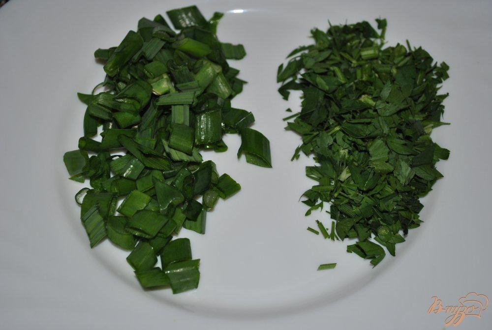 Фото приготовление рецепта: Суп с кукурузой и горохом нут шаг №10