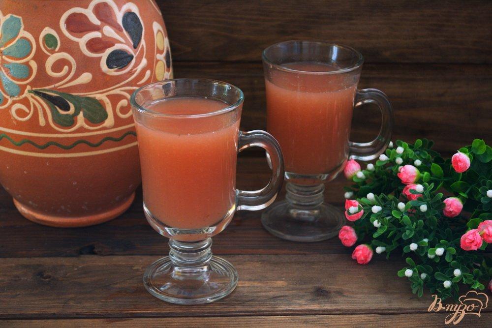 Фото приготовление рецепта: Кисель из яблок и варенья для диеты шаг №6
