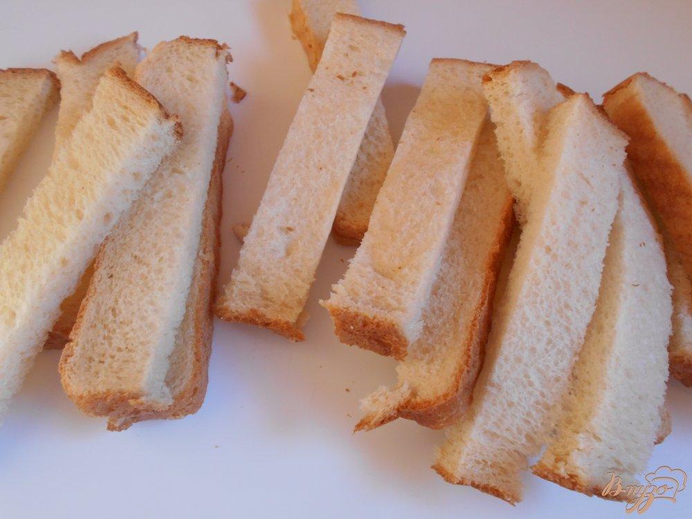 Фото приготовление рецепта: Хлебные палочки пикантные шаг №2