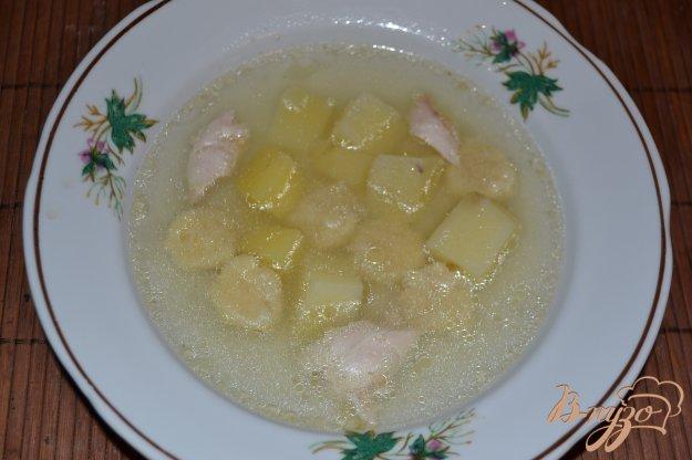 фото рецепта: Детский суп с клецками