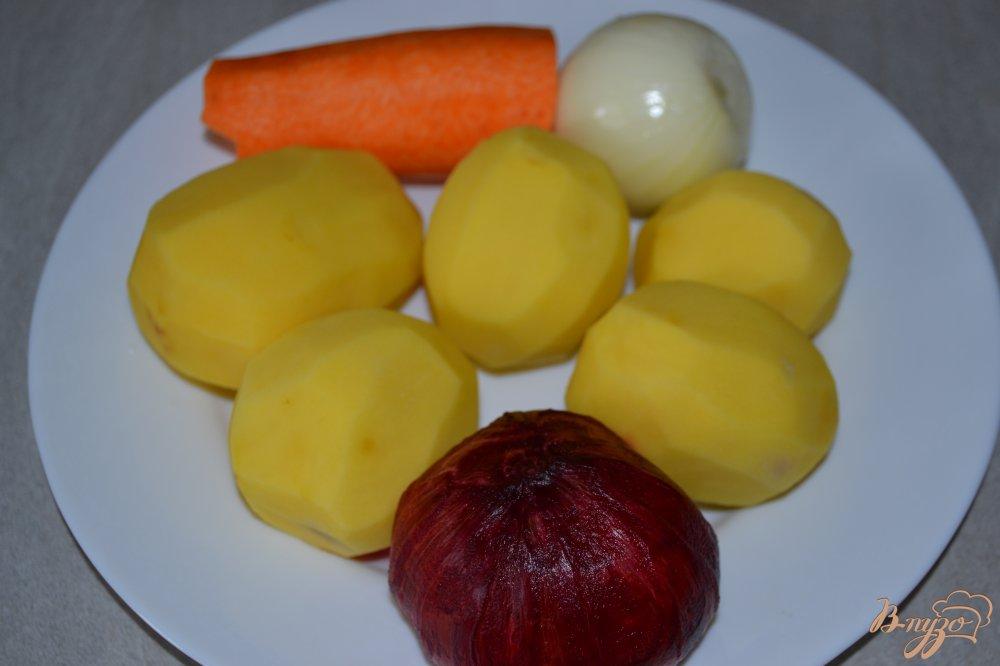 Фото приготовление рецепта: Красный борщ в мультиварке-скороварке шаг №1