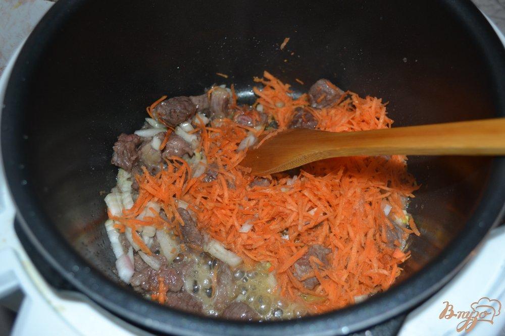 Фото приготовление рецепта: Красный борщ в мультиварке-скороварке шаг №8