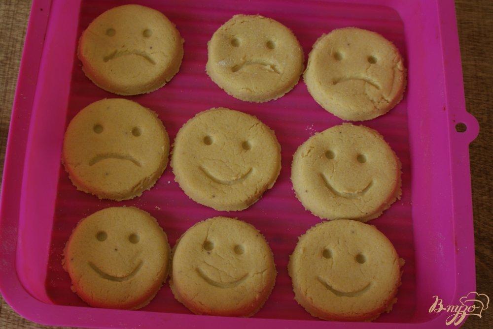 Фото приготовление рецепта: Детское кукурузное печенье