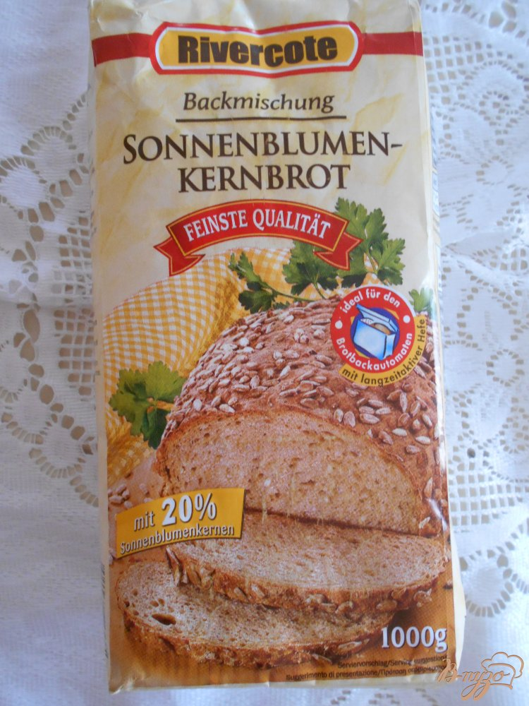 Фото приготовление рецепта: Хлеб с подсолнечными семечками шаг №1