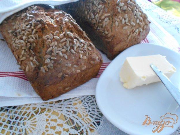 фото рецепта: Хлеб с подсолнечными семечками