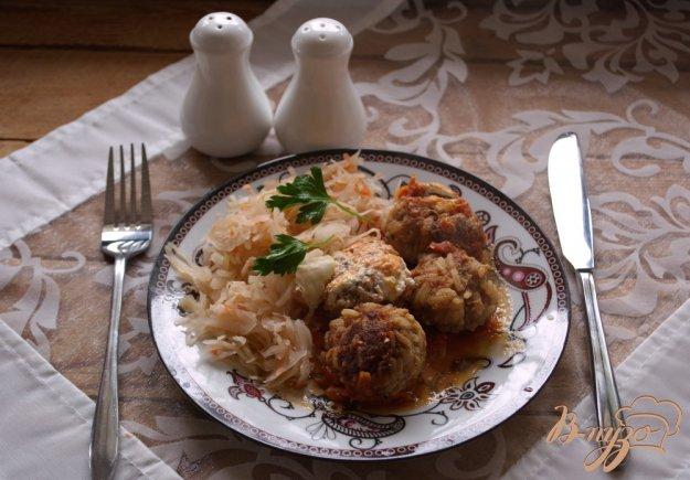 фото рецепта: Свиные тефтели в соусе