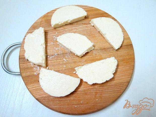 Адыгейский жареный сыр