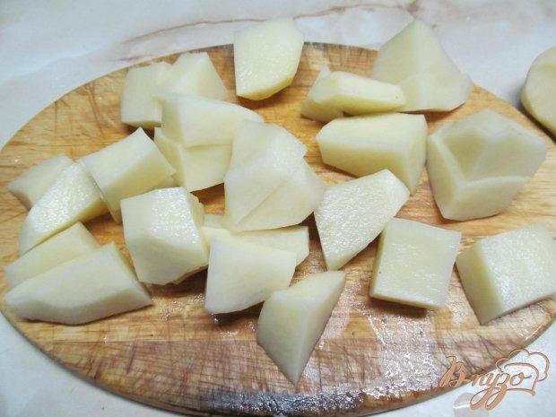 Картофель с горошком