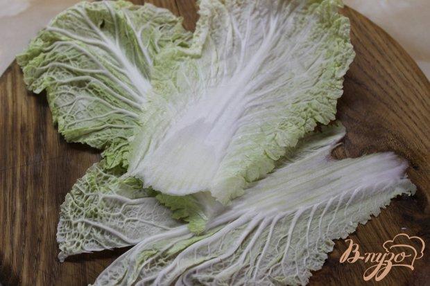 Рулеты с пекинской капусты с творогом