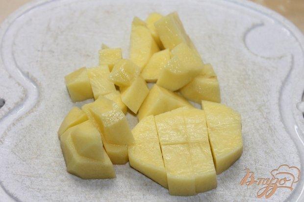 Сливочный супчик с сыром грибами и курицей