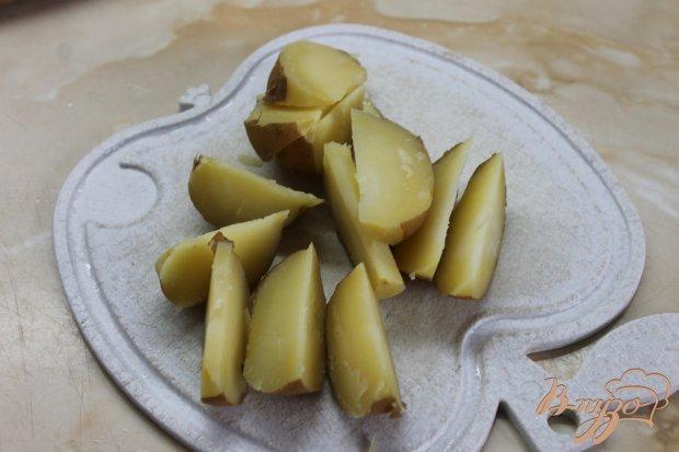 Картофель по - креольски с соусом