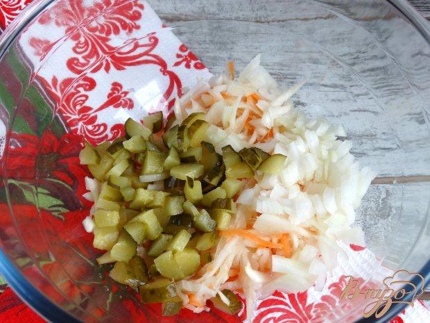 Винегрет рецепт с фото пошагово без капусты