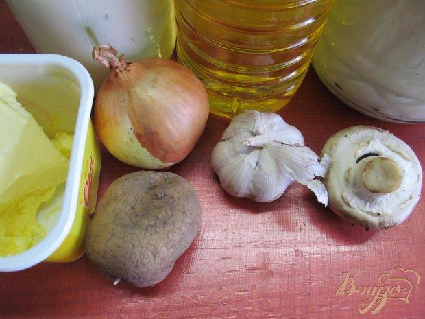 Рецепт Картофельные пирамидки с грибами.