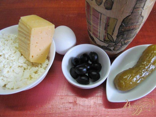 Рецепт Запеканка из творога и оливок