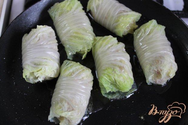 Голубцы с пекинской капусты со свининой