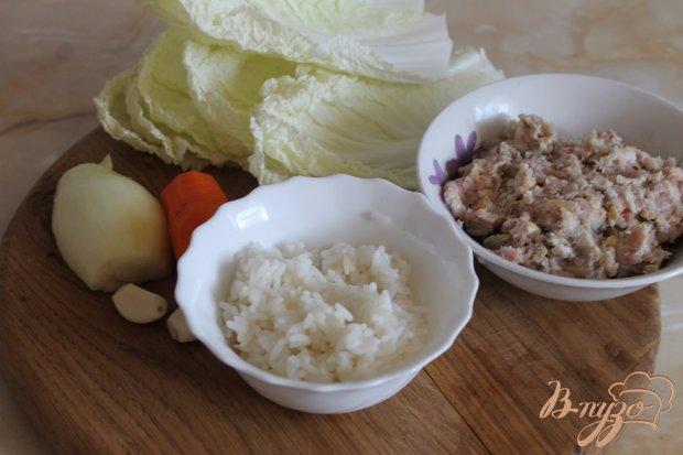 Рецепт Голубцы с пекинской капусты со свининой