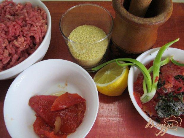 Фрикадельки в соусе с кус-кусом