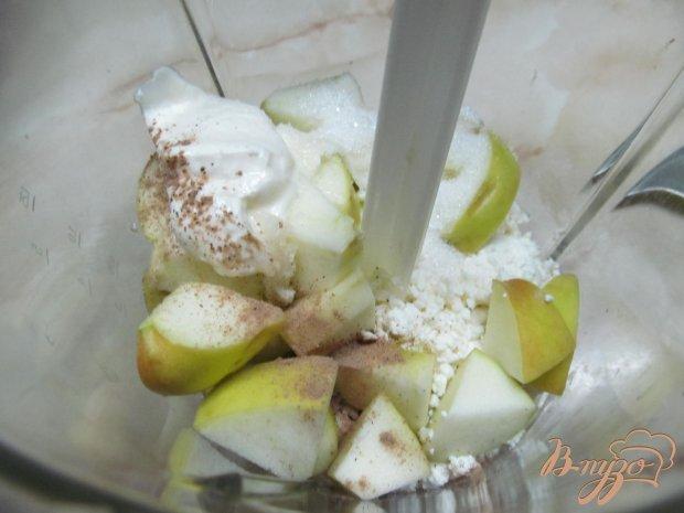 Блинчики с творогом яблоком и корицей