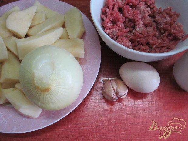 Рецепт Фрикадельки с картофелем в духовке