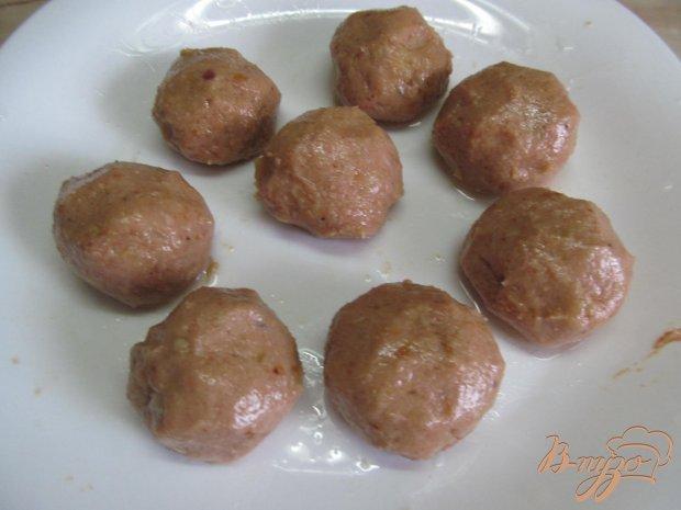 Фрикадельки с картофелем в духовке