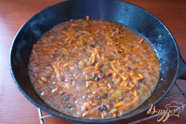 Вкусный грибной суп с томатом