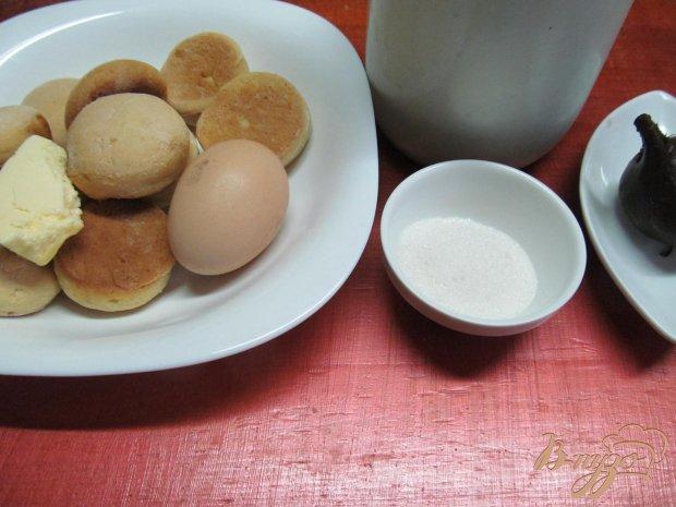 Заливной пирог из печенья и молока со свеклой