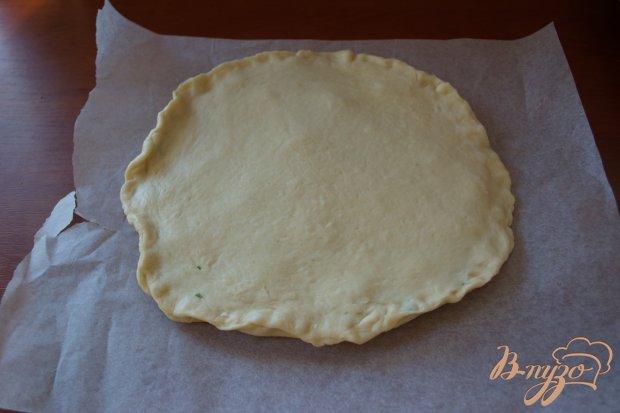 Дрожжевой пирог с брынзой