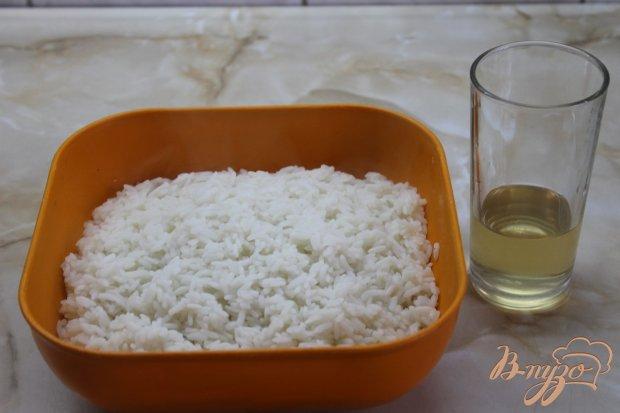 Ролл с крабовой палочкой и сыром с огурцом в тесте