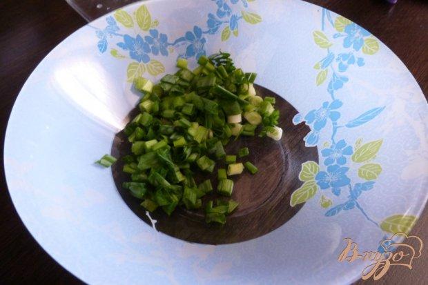 Рецепт Салат с копченной красной рыбой