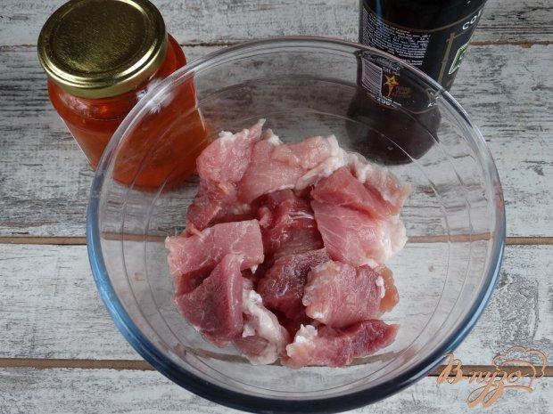 Свинина в медово-соевом маринаде