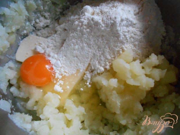 Картофельный пирог со свининой и овощами