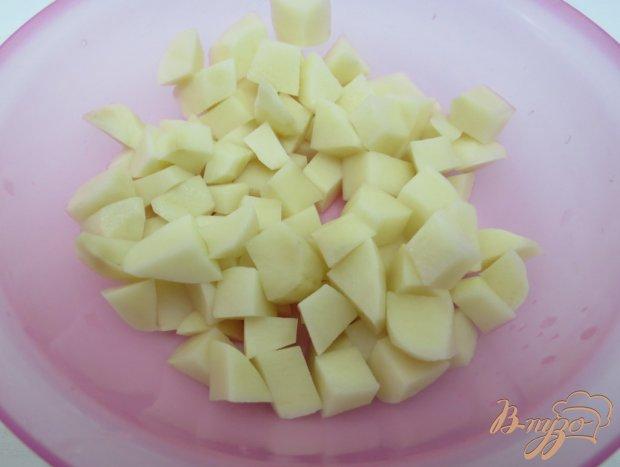 Рецепт Рассольник с копчёной колбасой и оливками