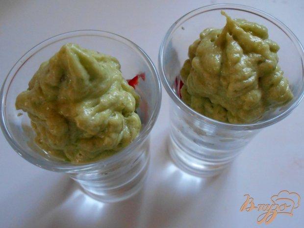 Креветочные веррины   с муссом из авокадо