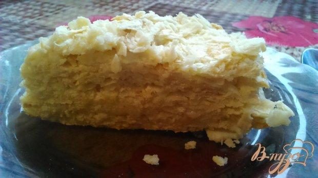 """Торт """" Наполеон"""" со сметаным кремом"""