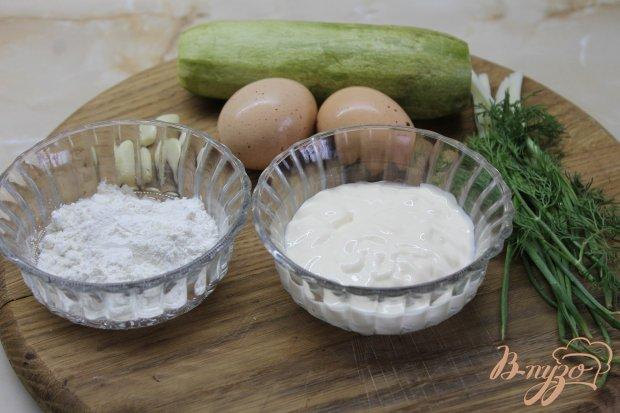 Цукини под чесночным соусом